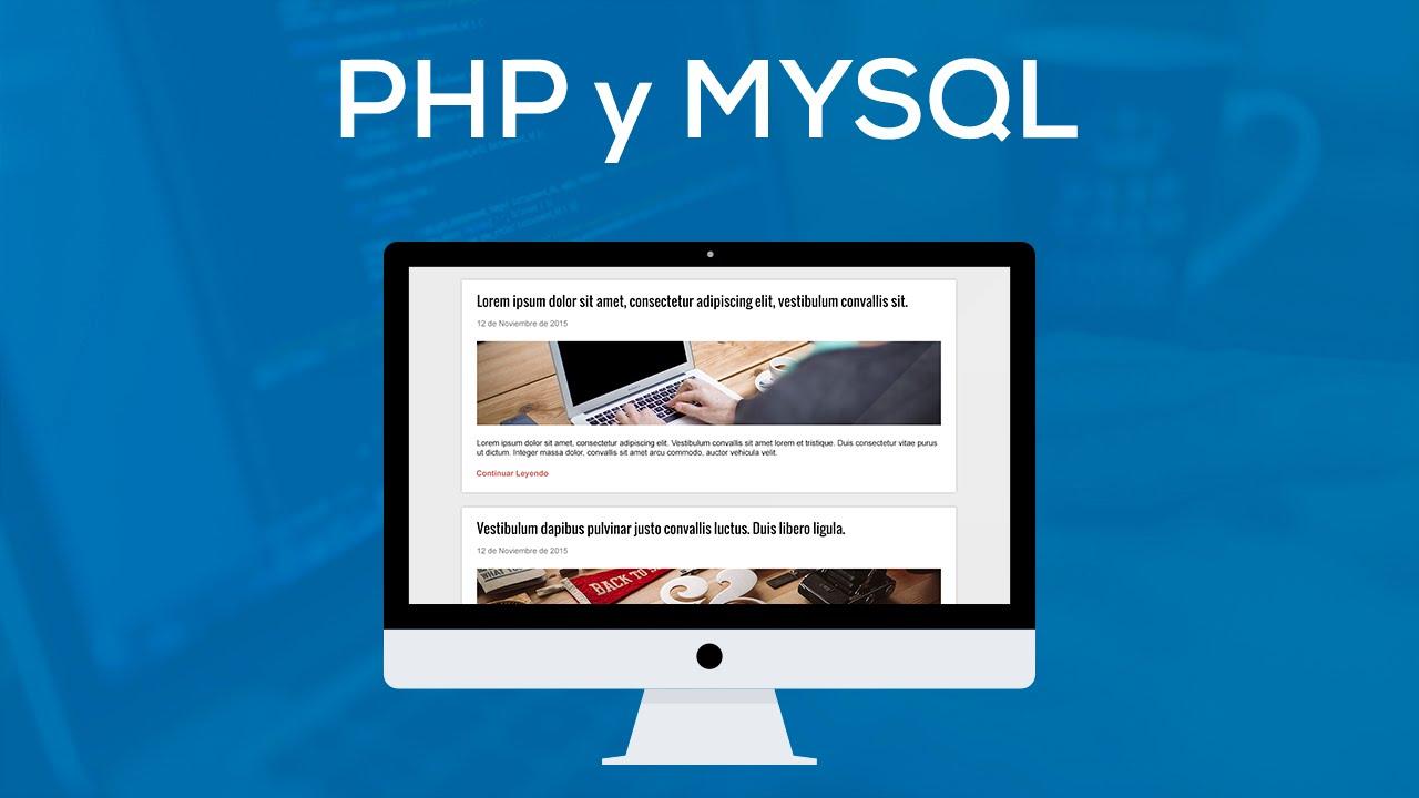 Actualización de PHP y MySQL